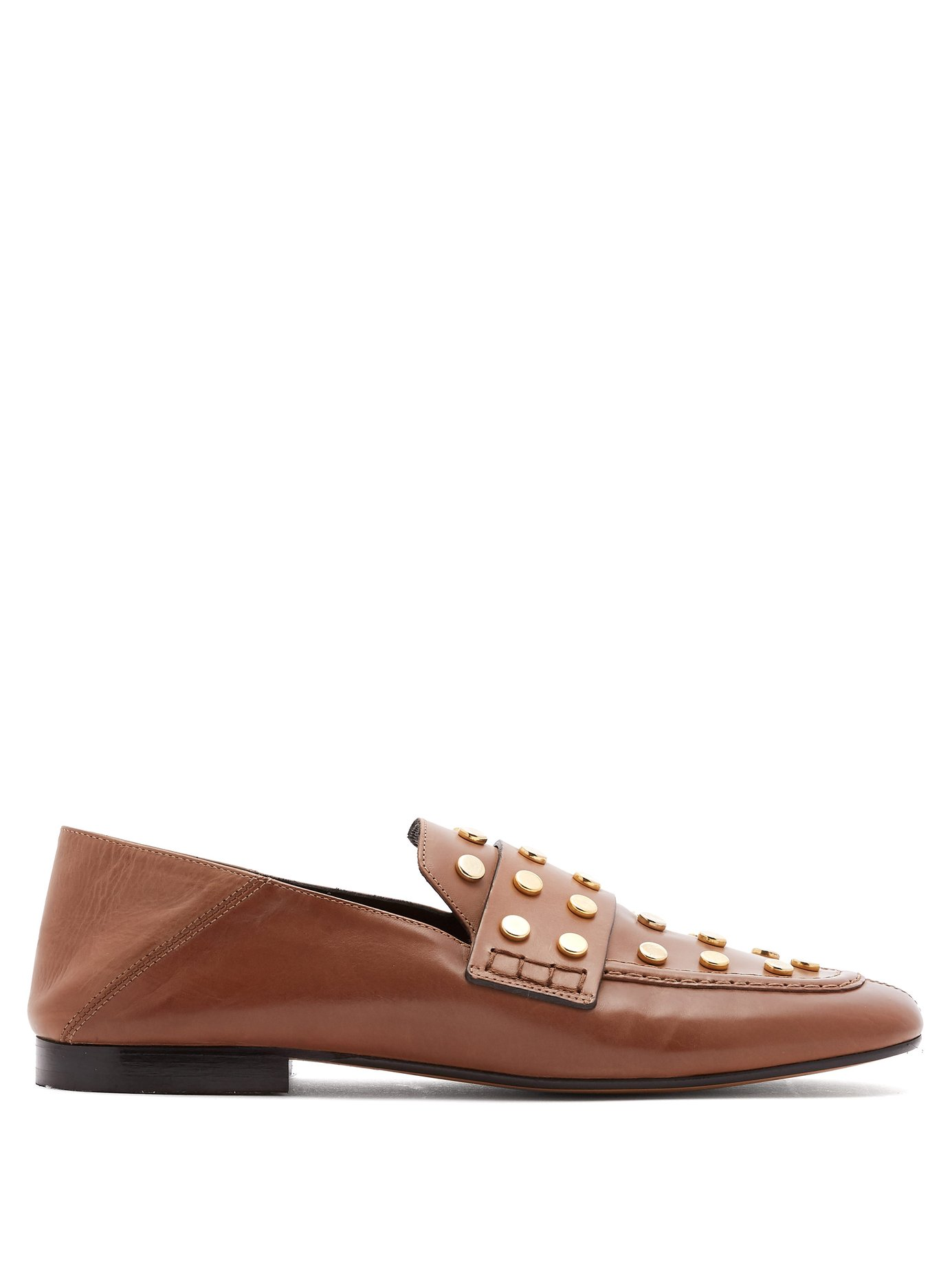 a36a6b47229 Home   Filter By   Event   Work   Isabel Marant Feenie collapsible-heel  leather loafers